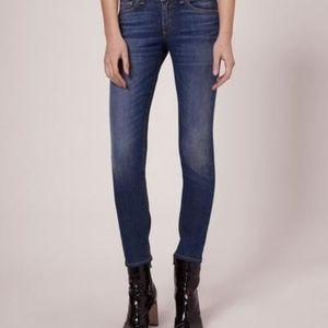 Rag & Bone Skinny Capri Jeans in Rae 27